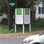 Queens Real Estate Signs post panel outdoor real estate 150x150